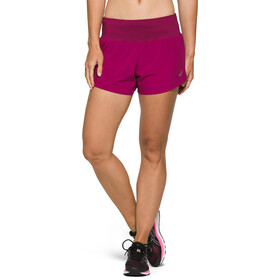 "asics Road Pantaloncini 3,5"" Donna, dried berry"